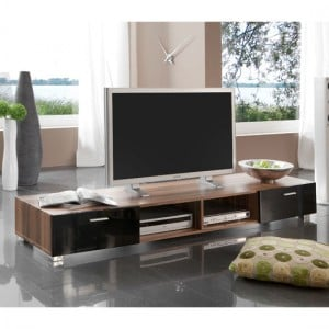 61704 large tv stand walnut 300x300 - Plasma Entertainment Centers, Complement Your Furniture