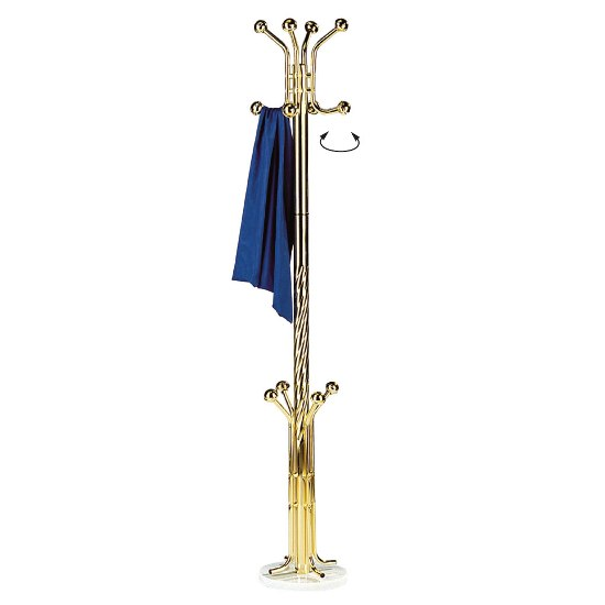 coat stand gold 1 - Coat Stands For Every Kind Of Décor