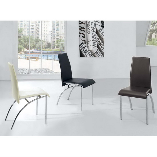 modern dining chairs D211 1 - Rest Your Back On Perfect Dining Chairs