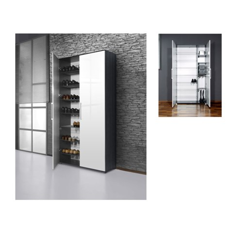 shoe organizer cabinet 0122 1 - Have shoe storage, but can't manage to store my shoes?