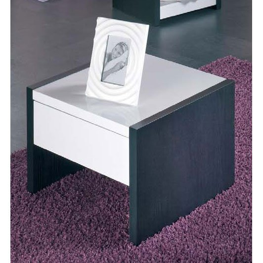 42120 high gloss white bedside furniture 2 - The Antique Bedside Cabinet, Style And Storage