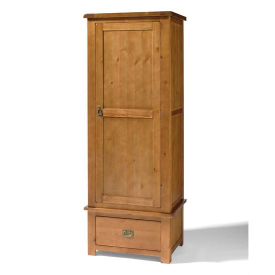 808.111 single robe wardrobe pine 1 - Modern Wardrobes For Small Bedrooms