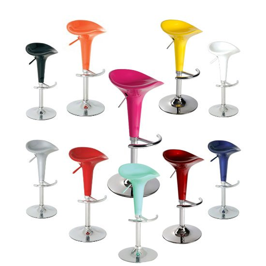 pazifik bar stool pink blue yellow 1 - Exhibition Stand Contractors Are Plentiful In The UK