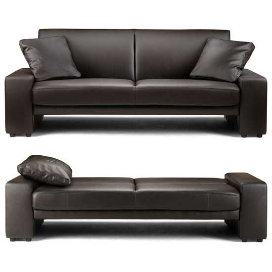 brown leather sofa bed supra - How To Choose An Ideal Sofa For Your Place
