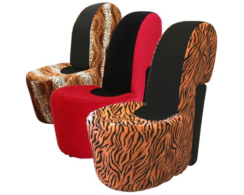 fu145 stiletto shoe chair - How To Decorate A Playroom