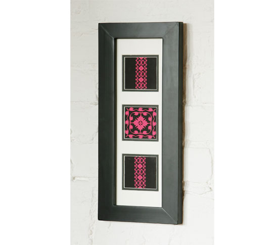 pink modern flock picture frame 2 - Wall Art For Your Home