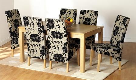 belgravia dining set printed - Floral Design Tips for Table Arrangements