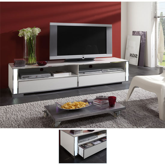 gloss white plasma tv stands 56200 - How to Build You Own TV Stand