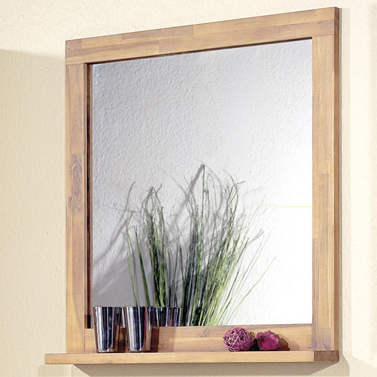 natural hardwood bathroom mirror 1790 56 - How to Choose a Quality Mirror for Your Bathroom