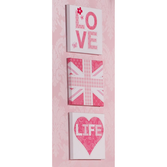 000420 Live Love Pink A 1 - How to Hang Up New Art in Your Home
