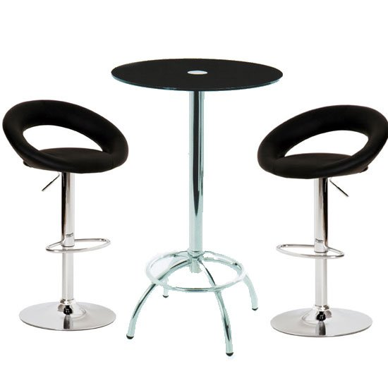 Konix bar table leoni stool 1 - Buy Exhibition Furniture to Promote Your Business