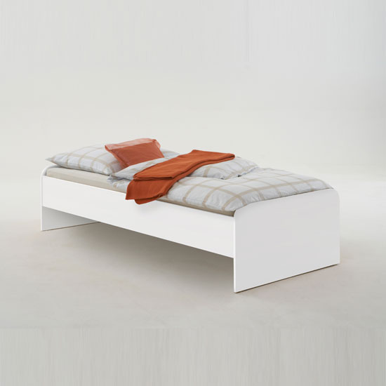 Pedro 6 White bed 1 - Interior Design Ideas For Wardrobes In Bedrooms