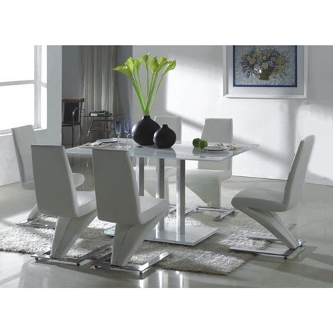 dining table set glass arcticWH 1 - Dining Tables - For Fine Dining Experiences