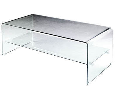 Black Glass Coffee Tables versus Clear Glass Coffee Tables