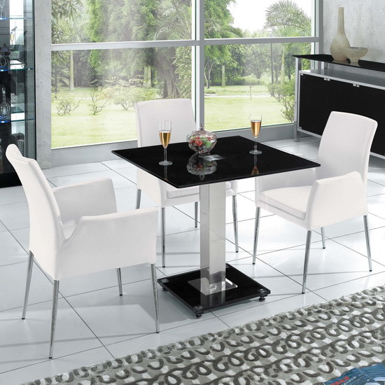 square dining table black 1 - Shopping Tips for Dining Tables