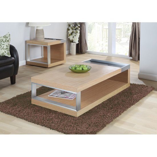 Setting a Comparison between Oak and Mahogany Coffee Tables