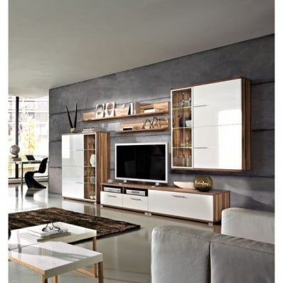 Nevada balt wht living 1 - Revamp Your Living Room with Entertainment Furniture