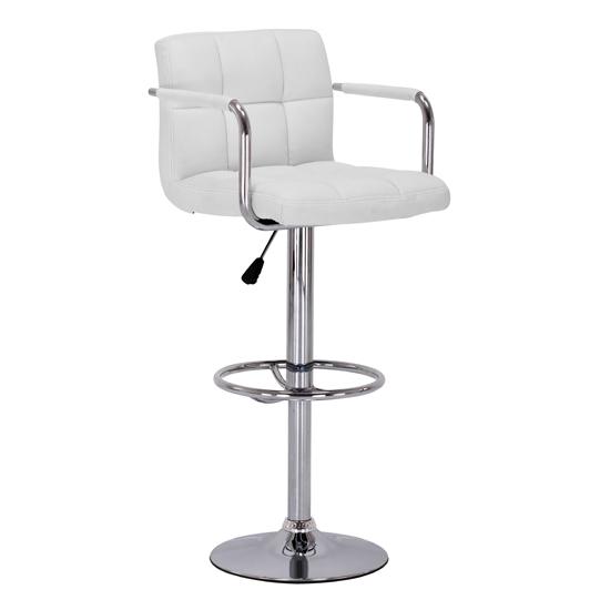 bar stool white 2402390 1 - How To Buy Backless Bar Stools For Restaurant