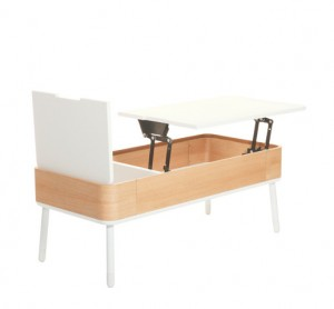 Coffee Tables with Pull Up Table Top Offer Space In A Living Room