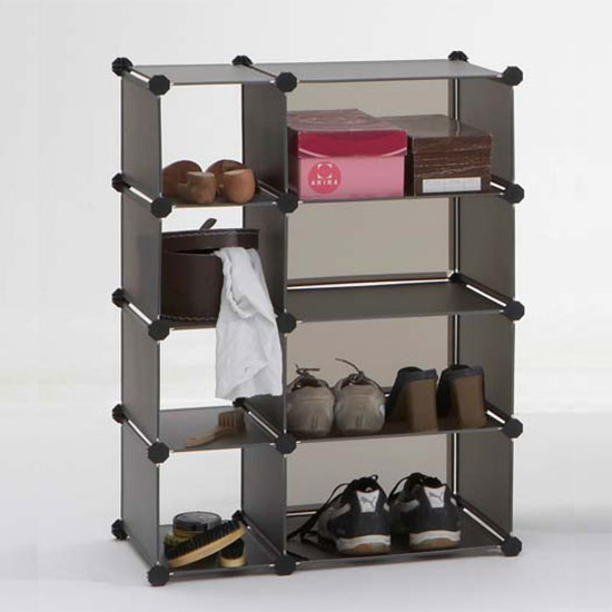 box1 shoe storage 1 - How to organize your shoes in a small space