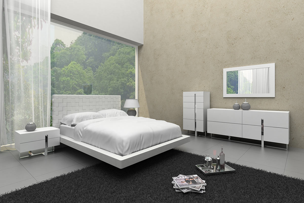 What Are Modern White Bedroom Furniture Offers?