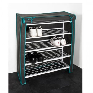 Shoe rack with cover- Organize your home in style