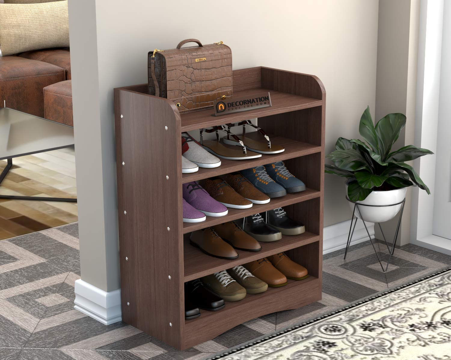Shoe rack for a garage-A practical addition to your home