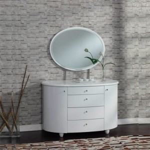 Exclusive décor tips around dressing table in white