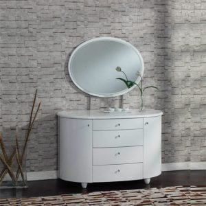 Aztec 4 Drawer Chest 300x300 - Exclusive décor tips around dressing table in white