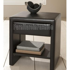 Bedside  brown matt 300x300 - What Are the Benefits of Leather Bedside Cabinets?