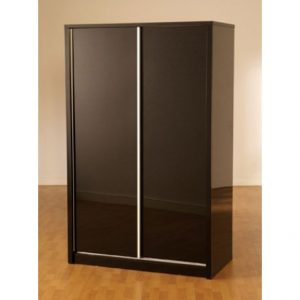CHARISMA 2D SLIDER ROBE BLACK 300x300 - Wardrobes with Red Sliding Door: Provide a Different Style on Your Bedroom