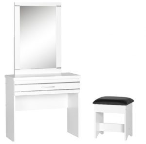 JORDAN 1 DRAWER DRESSING TABLE SET 1 300x295 - How to Buy Dressing Tables for Small Bedrooms?