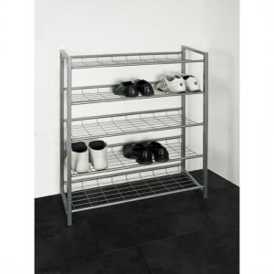 Guidance for Shoe rack in metal finish