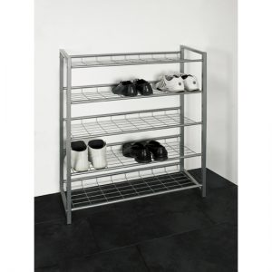 Jupp 5 Tier Metal Shoe Rack 387281 300x300 - Guidance for Shoe rack in metal finish