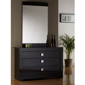 Modena 3 Drawer Wide Chest MOD041 300x300 - Chest of drawers with a mirror in your bedroom