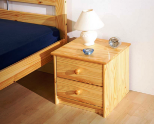 York 2 Draw 300x243 - Advantages of Bedside Cabinets in Pine