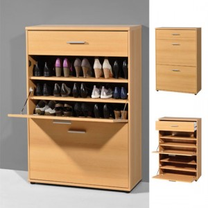 Shoe rack in high gloss finish for your home