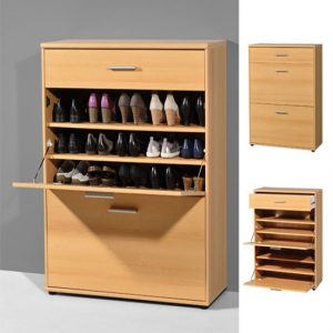beech shoe cabinet 3664 11 300x300 - Shoe rack in high gloss finish for your home