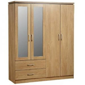 charles 4d wardrobe 300x300 - Add More Space to Your Room with Wardrobes with Drawers and Shelves