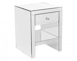 A Mirrored Bedside Cabinet is a real focal point for your bedroom
