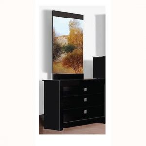 omega blk dresser 300x300 - Dressing Table with Full Length Mirror: Add Practicality in Your Bedroom