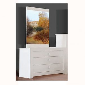omega white dresser2 300x300 - Dressing table with lighted mirror: A right choice for your bedroom