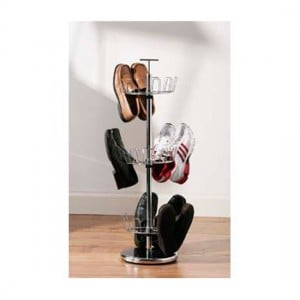 Make your home functional with shoe rack that revolves
