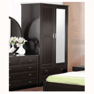 torino 2door robe coffee1 300x300 - Wardrobes with TV Space: Adding Functionality to Your Room
