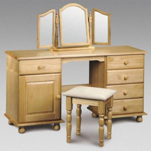 twin dressing table stool pickwickTwinDrs1 300x300 - Revamp your bedroom with dressing table with mirror and stool