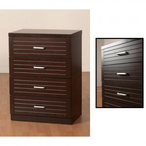 Décor your room with chest of drawers in black