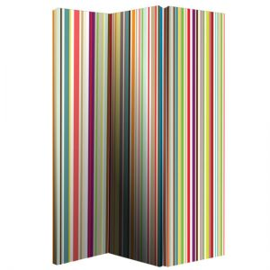008107 Bright Stripe room divider 300x300 - Add style and convenience in your house with room divider with fireplace
