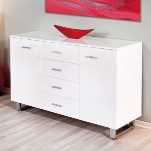 AILEE gloss sideboard 300x300 - How to Find the Best Sideboard in Traditional English Style with an Antique White Finish