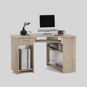 Home Office Canadian Oak Corner Computer Desk 300x300 - Benefits of having computer desks in oak finish