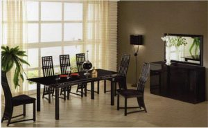 Omega Dining Set 300x185 - Add an extendable designer dining table in your home for style and functionality